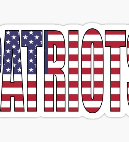 Patriots Sticker