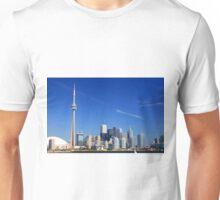 Toronto Skyline. Unisex T-Shirt