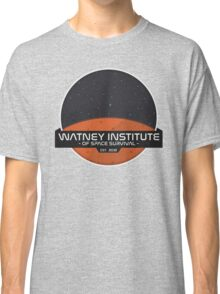 Mark Watney Institute - The Martian Classic T-Shirt
