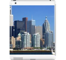 Financial district of Toronto. iPad Case/Skin