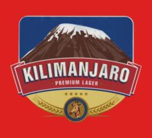 KILIMANJARO LAGER BEER TANZANIA One Piece - Short Sleeve