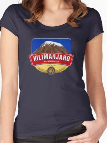 KILIMANJARO LAGER BEER TANZANIA Women's Fitted Scoop T-Shirt