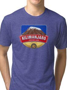 KILIMANJARO LAGER BEER TANZANIA Tri-blend T-Shirt