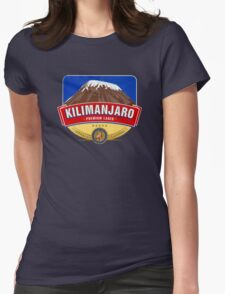 KILIMANJARO LAGER BEER TANZANIA Womens Fitted T-Shirt