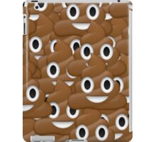 Poop face emoji iPad Case/Skin