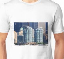 Modern apartment buildings. Unisex T-Shirt