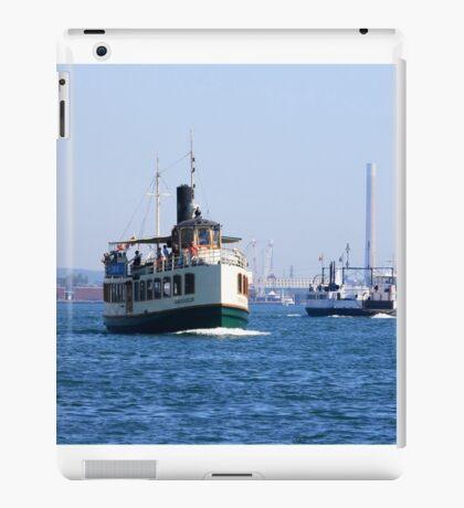 Ferryboat transportation. iPad Case/Skin
