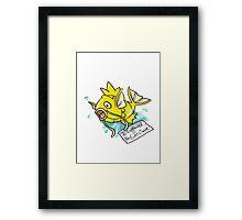 Shiny Magikarp Framed Print