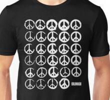 PEACE SIGNS & COFFEE STAINS Unisex T-Shirt