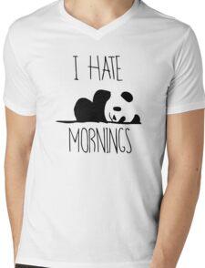 I Hate Mornings Mens V-Neck T-Shirt