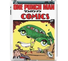 One Punch Man Action Comics iPad Case/Skin