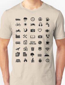 Iconspeak - Travel Icon for World Travellers 1 Unisex T-Shirt