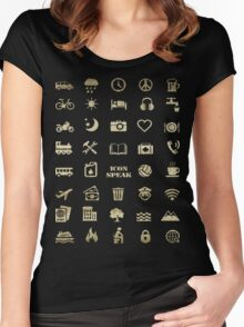 Iconspeak - Travel Icon for World Travellers 2 Women's Fitted Scoop T-Shirt