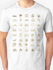Iconspeak - Travel Icon for World Travellers 2 T-Shirt