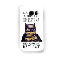 Cat meow super heroes Samsung Galaxy Case/Skin
