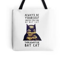 Cat meow super heroes Tote Bag