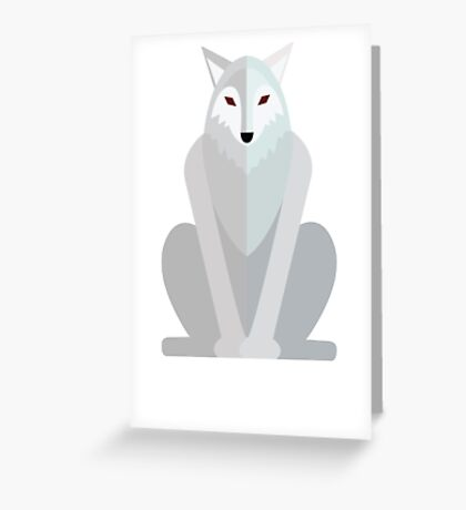 Paper Ghost Greeting Card