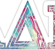 alpha delta pi adpi sorority sticker colorful Sticker