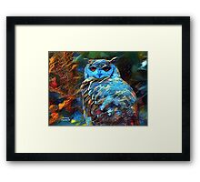 Who, Who Are You? Who, Who! Framed Print