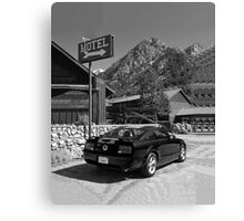 Mountain Motoring Canvas Print