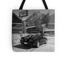 Mountain Motoring Tote Bag