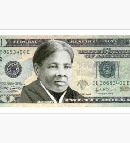 Harriet Tubman Twenty Dollar Bill Sticker