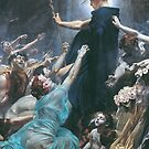 Souls on the Banks of the Acheron by Adolf Hirémy-Hirschl by Aconissa