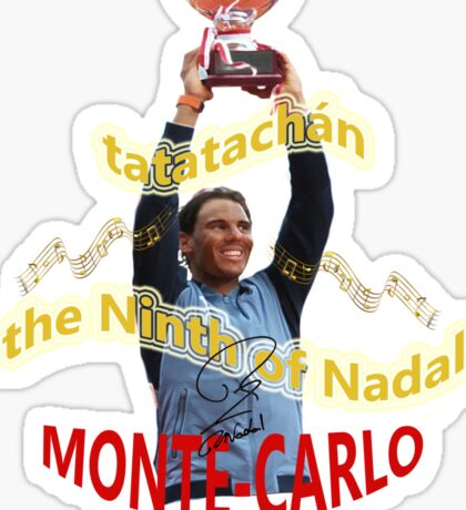 The Ninth of Nadal Sticker