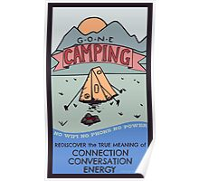 Gone Camping Poster