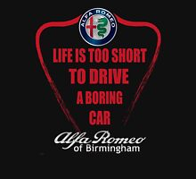 Life's Too Short - Drive Alfa Womens Fitted T-Shirt