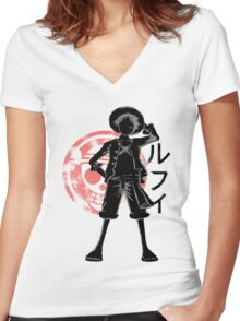 Pirate king Women's Fitted V-Neck T-Shirt