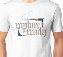 Rapture Ready - Elegant Modern Religious Christian Calligraphy - hand lettering - for white Unisex T-Shirt