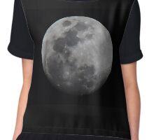 Lunar Surface Chiffon Top