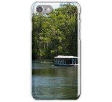 Glass Bottom Boat on Silver Springs iPhone Case/Skin