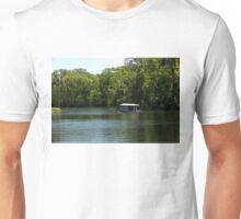 Glass Bottom Boat on Silver Springs Unisex T-Shirt