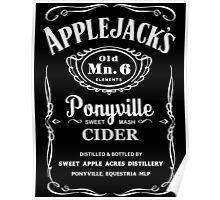 Applejack's Sweet Mash Cider Poster