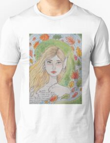 By water, wood and willow T-Shirt