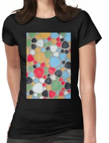 Pebbles Womens Fitted T-Shirt