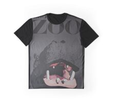 Hippo Zoo Poster Graphic T-Shirt