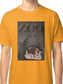 Hippo Zoo Poster Classic T-Shirt
