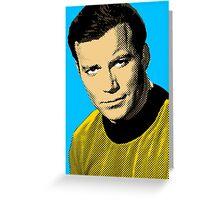 Captain Kirk Greeting Card