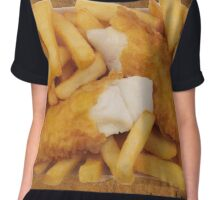 FISH AND CHIPS Chiffon Top