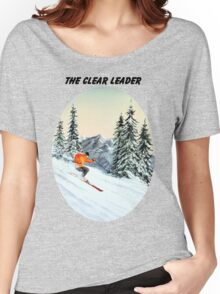 The Clear Leader With A Banner Women's Relaxed Fit T-Shirt