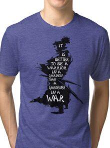 Warrior's Garden Tri-blend T-Shirt