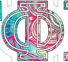gphib gamma phi beta sorority sticker colorful Sticker