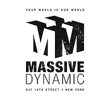 Massive Dynamic (aged look) Photographic Print