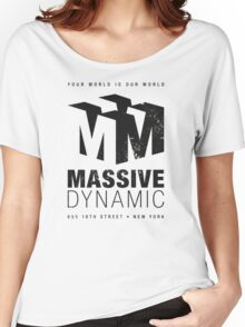 Massive Dynamic (aged look) Women's Relaxed Fit T-Shirt