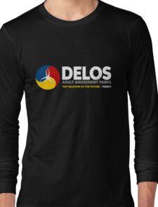 Delos – Adult Amusement Parks (aged look) Long Sleeve T-Shirt