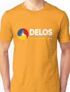Delos – Adult Amusement Parks (aged look) Unisex T-Shirt