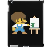 Super BobRossario Bros. iPad Case/Skin